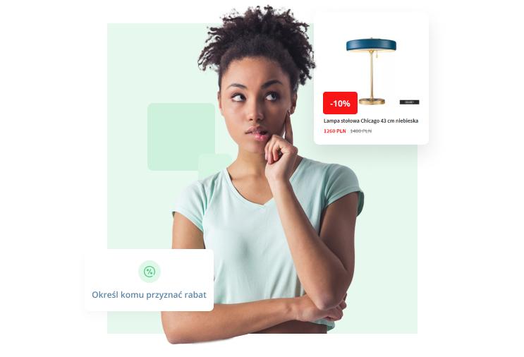 Rabaty dla wybranych klientów lub grup klientów